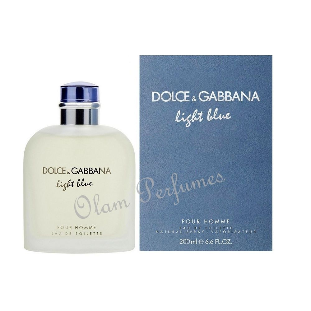 Light Blue Pour Homme Eau de Toilette Spray 6.7oz 200ml